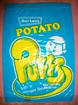 1970s puffs crisps - I cant tell you how much I loved these! We got them everytime we visited the park that had a cafe.