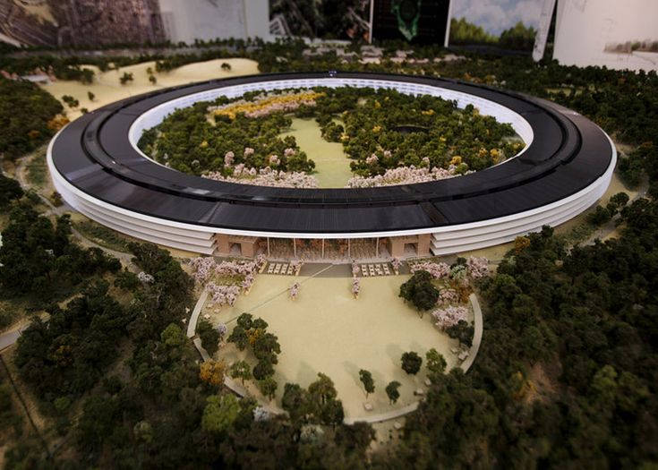 Foster's Apple Campus unanimously approved by Cupertino City Council #architecture ☮k☮