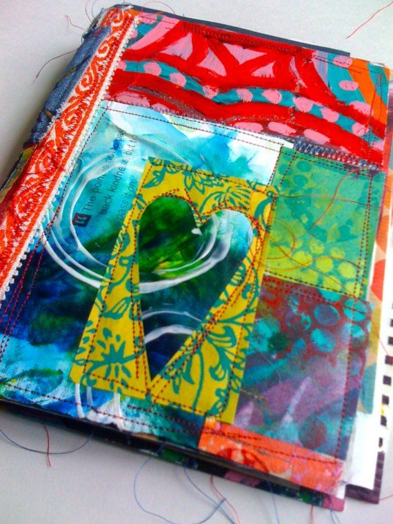 heart of kindness art journal by Traci Bautista by TraciBautista