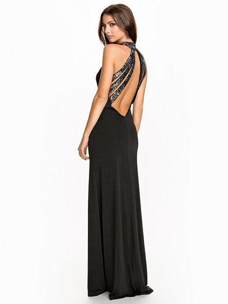 Nelly.com: Crystal Tale Dress - NLY Eve - kvinde - Sort. Nyheder hver dag. Over 800 varemærker. Uendelig variation.