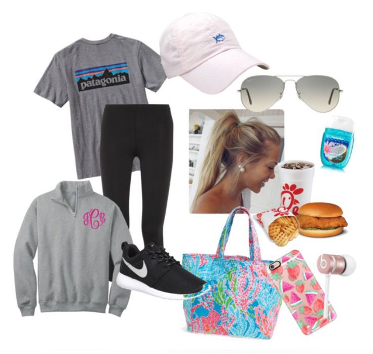 perfect preppy outfit/accessories for a school field trip!!