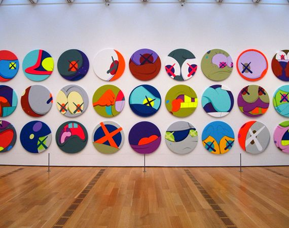"KAWS ""Down Time"" – High Museum Of Art Atlanta 