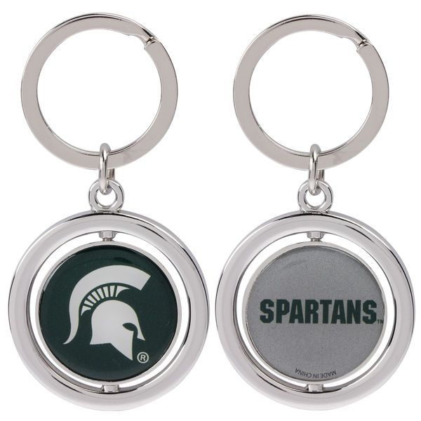 Michigan State Spartans Basketball Spinner Keychain - $6.99