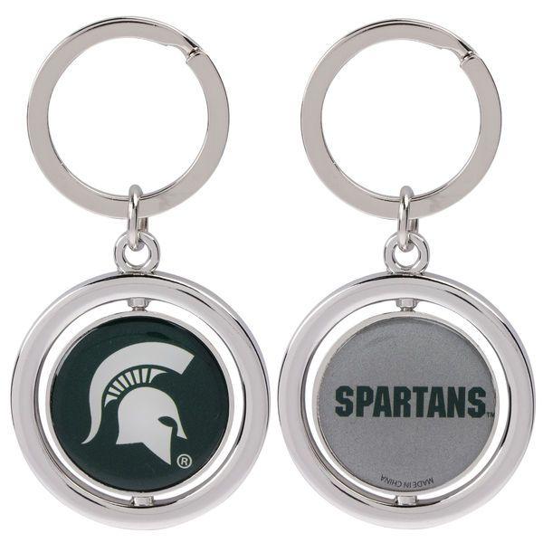 Michigan State Spartans Basketball Spinner Keychain - $6.99