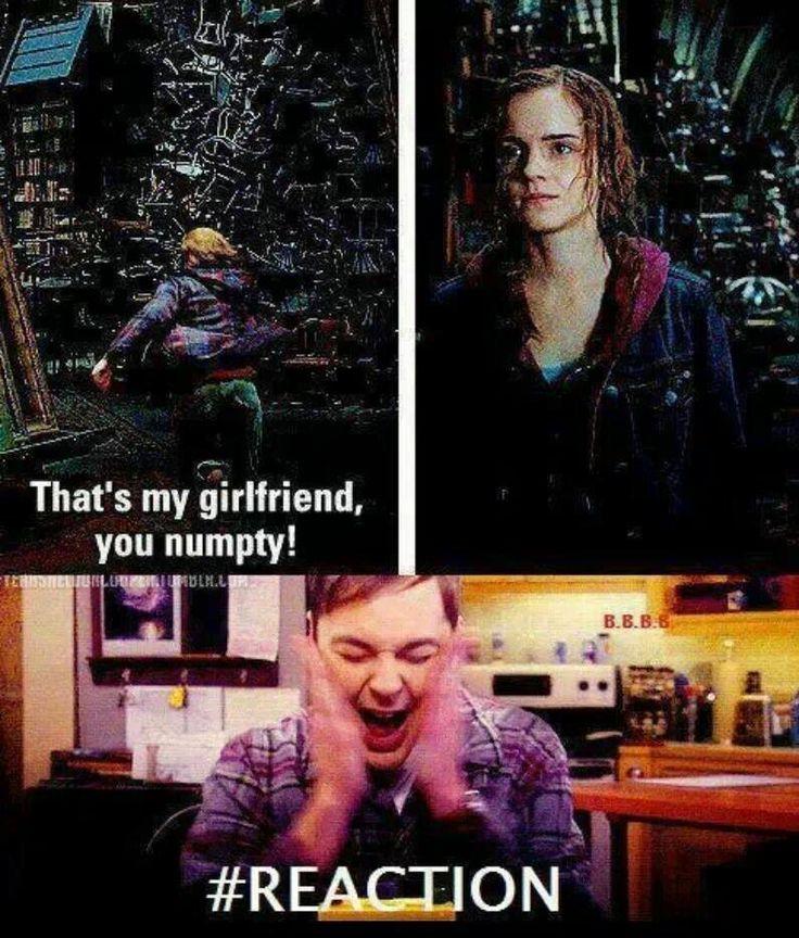Hermione sucks rons dick