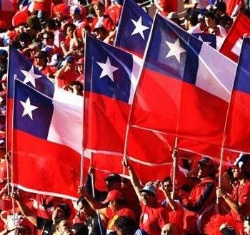 Hinchada Seleccion Chilena