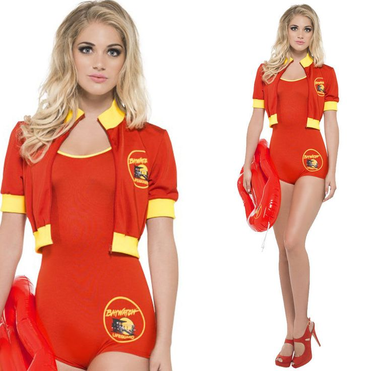 Ladies Baywatch Fancy Dress Lifeguard Costume - Official Licenced 90s Outfit in Clothes, Shoes & Accessories, Fancy Dress & Period Costume, Fancy Dress | eBay