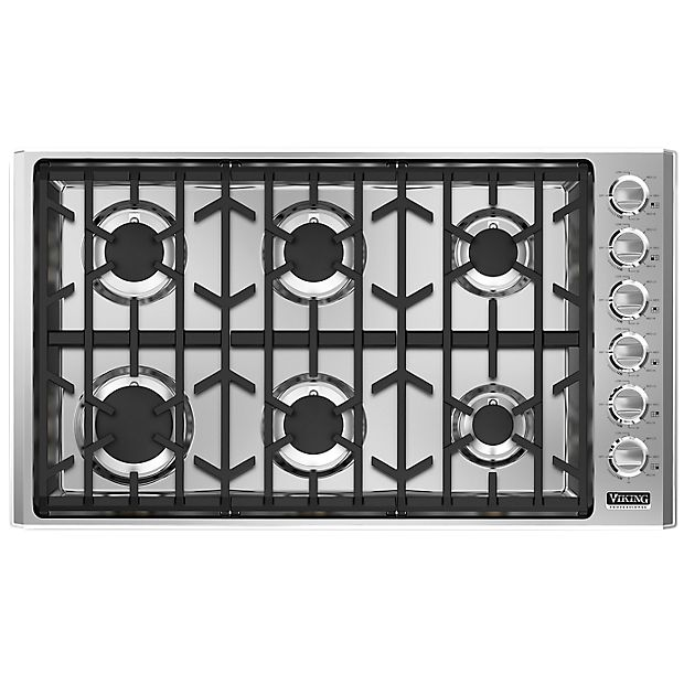 36 inch gas cooktop: Viking