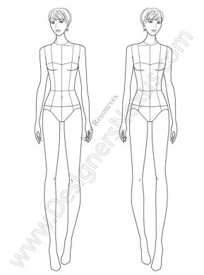 The 25 best fashion illustration template ideas on pinterest fashion illustration template pronofoot35fo Choice Image