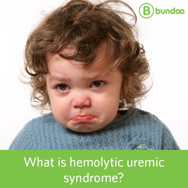 Hemolytic uremic syndrome is a condition that occurs more often in children than in adults and is caused by a strain of E. coli. Learn more.