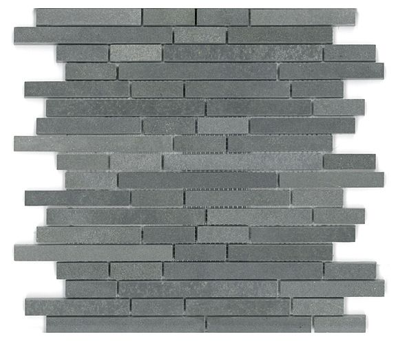 basalt mini linear mosaic mosaic mesh mount sheet granite mosaic tile