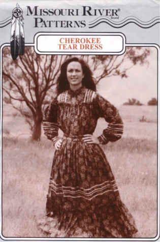 Cherokee Indian Wedding Dress Missouri River Tear