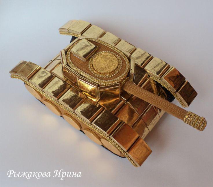 Gallery.ru / танк из конфет - СЛАДКИЕ КОМПОЗИЦИИ 2 - irina35