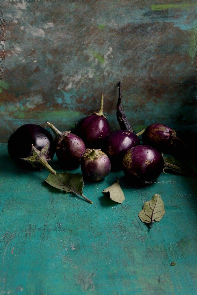 Begun Posto (Eggplants with Poppy Seed Paste) | eCurry
