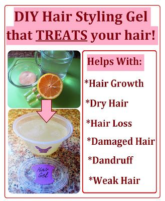 How to Make Hair Styling Gel that TREATS your hair. Easy and