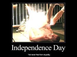 As the United States celebrates Independence Day, we honor the important stuff: Blowing stuff up and eating BBQ. Happy 4th of July, 'Murica!: 20 Funny Pics To Make You Laugh On The 4th of July