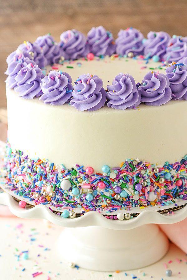 Moist Vanilla Layer Cake – Leben Liebe und Zucker #Moistvanillacake   – Vanille Torten