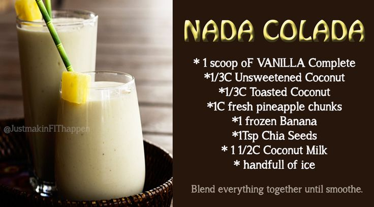 Love this pina colada! No dairy! #31flavorsin31days