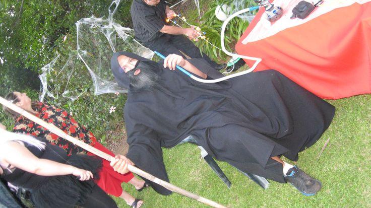 Mystical sorcerer with a hubbly...uhm ok