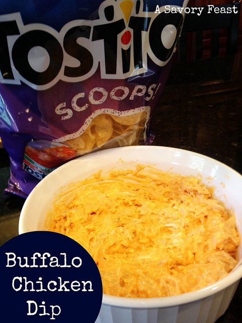 Buffalo Chicken Dip is a great #appetizer for your next party!