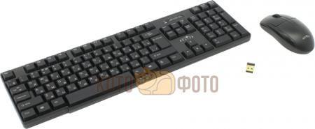 Набор клавиатура+мышь Oklick 200M  — 1110 руб. —  беспроводные клавиатура и мышь, интерфейс USB, для настольного компьютера, классическая клавиатура, клавиш: 104, светодиодная мышь, 3 клавиши, разрешение сенсора мыши 800 dpi