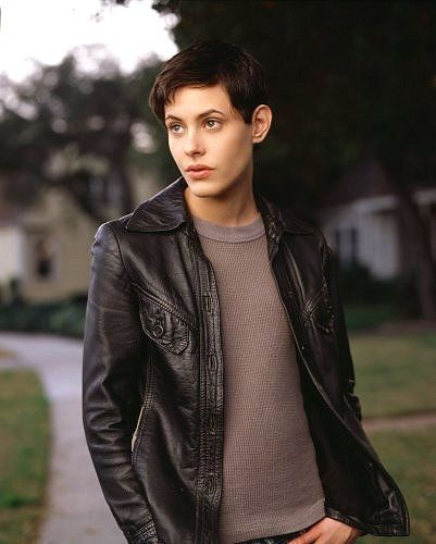 If we picked a photo of a woman who looked reminiscent of Katherine Moennig that would definitely resonate with a certain section of the lesbian crowd.
