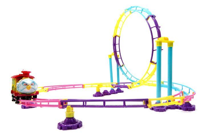 Park Roller Coaster Toy Building Set (75 Pcs)