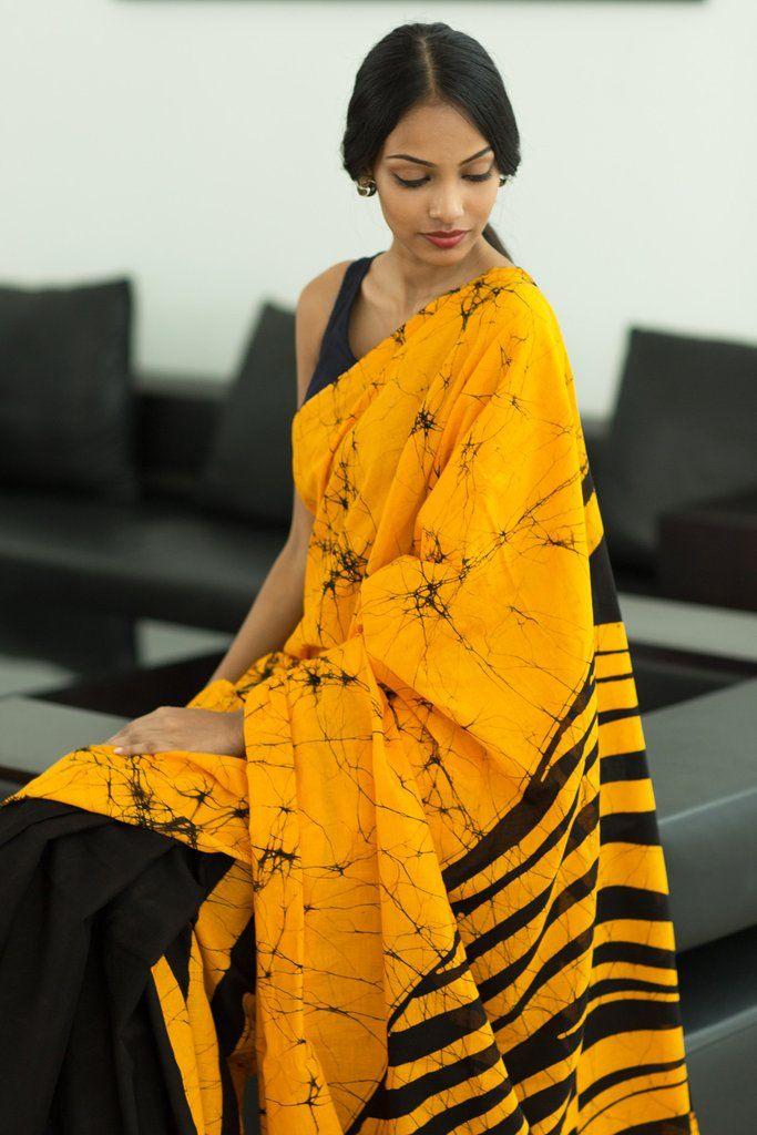 Desert Sands Saree from FashionMarket.lk