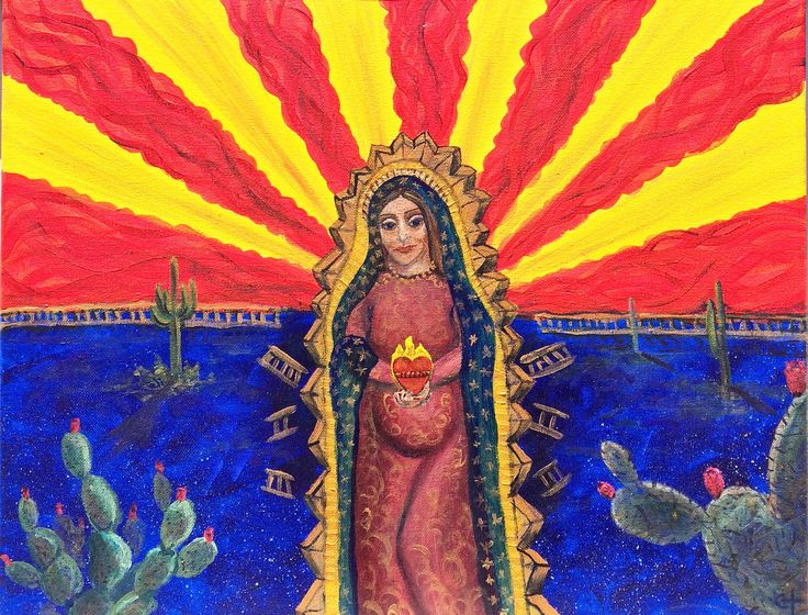 My newest painting can be found at Raices Taller 222 Art Gallery & Workshop in Tucson, Arizona during their Ay qué Calor exhibition.