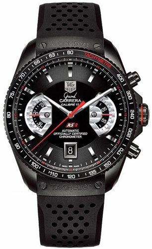 TAG Heuer Men's Grand Carrera Automatic Chronograph Watch $6295.00: Montresdeluxe Tagheuerfr