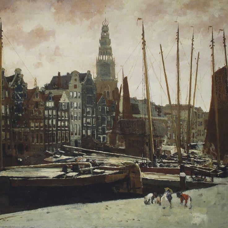 Paneel Old Amsterdam 1.15X1.45 56245-290