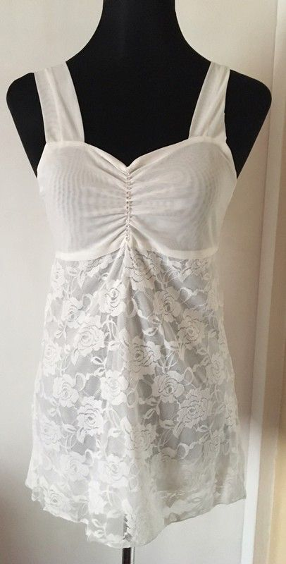 My Cream Lace Top BNIB by ! Size 8 / S for £3.00. Check it out: http://www.vinted.co.uk/womens-clothing/other-tops/6518994-cream-lace-top-bnib.