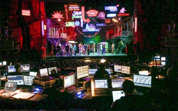 The return of Miss Saigon production process backstage.