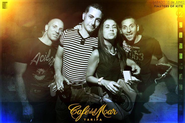 MASTERS OF KITEBORAD en Café del Mar Tarifa junio 2013