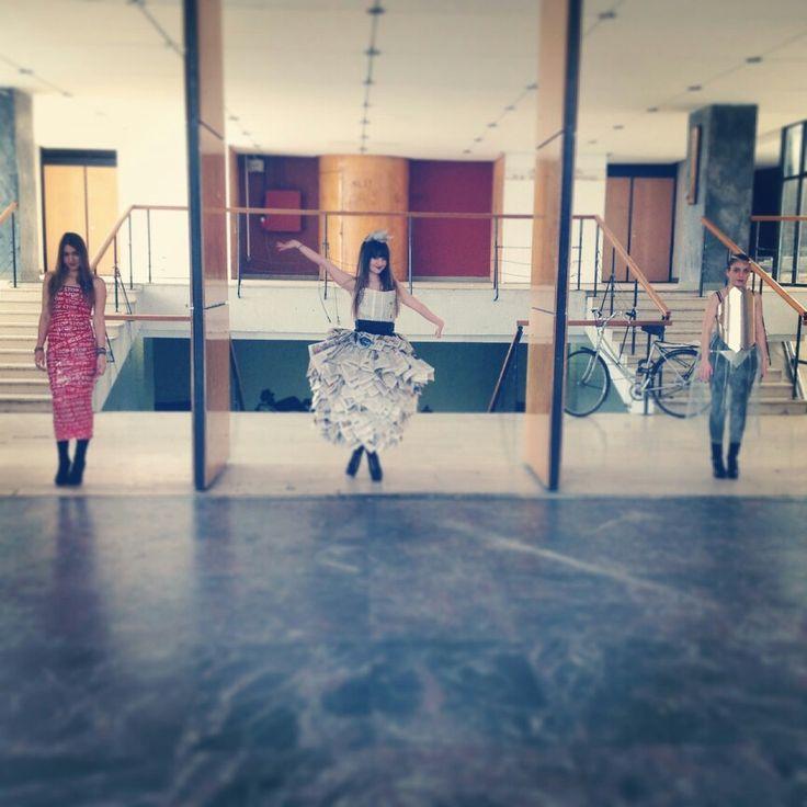"""Useless dresses"" Maria Lantavou & Effie Douroudi"