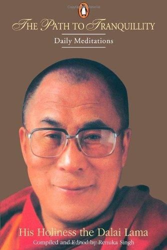 """The foundation of all spiritual practice  ~ 14th Dalai Lama http://justdharma.com/s/413n8  Human beings will continue to deceive and overpower one another. Basically, everyone exists in the very nature of suffering, so to abuse or mistreat each other is futile. The foundation of all spiritual practice is love. That you practice this well is my heart's desire.  – 14th Dalai Lama  from the book """"The Path of Tranquility: Daily Meditations by the Dalai Lama"""" ISBN: 978-0670882014…"""