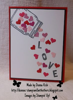 Stamps Well With Others: Valentine Jar of Love
