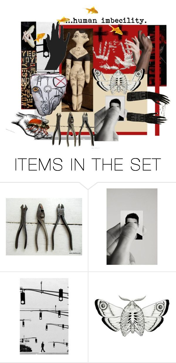 """""""""""Dada Manifesto 1918"""""""" by artsdesireable ❤ liked on Polyvore featuring art, 3buu, SpoonZBestiary and OlderBoy"""