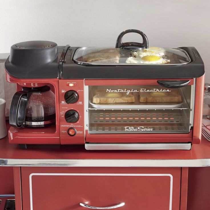 Nostalgia Electrics 3-in-1 Breakfast Station #breakfast, #electric, #station
