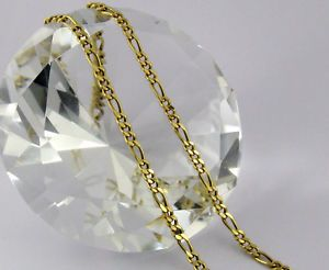 18k real gold chain necklace