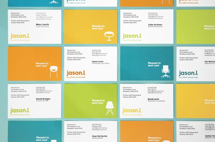 Jason L - Business Cards