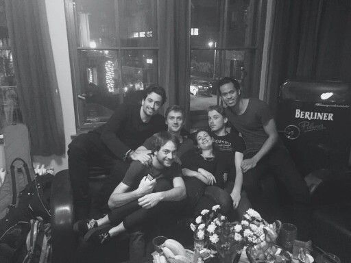 Dotan with team afterparty