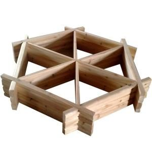 Blue Marble Designs Herb Wheel Raised Planter Bed Kit  Model # 100149 Internet # 202941963    (2)  Write a Review  $82.89
