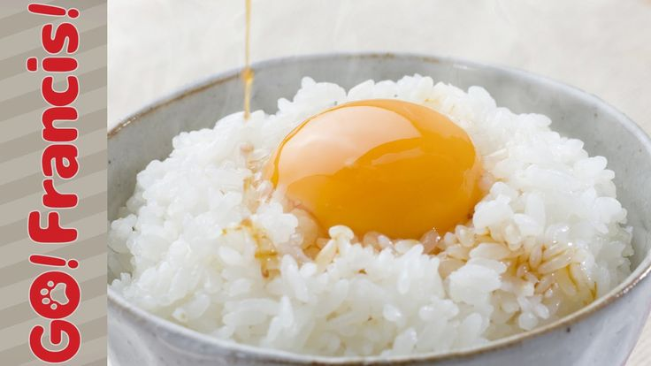 Is It Okay to Eat Raw Eggs?   Go! Francis! Cooking with Dog