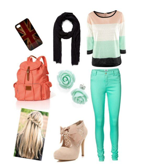 01 Cute Back to School Outfits