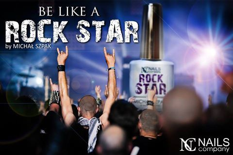 Be like a Rock Star with Nails Company. New Collection by Michał Szpak.