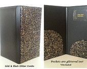 Glitter Bling Waitstaff Server Books