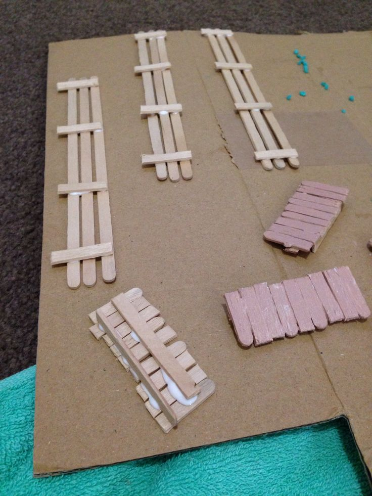 Making Rustic Old Style Fences With Paddle Pop Icy Pole