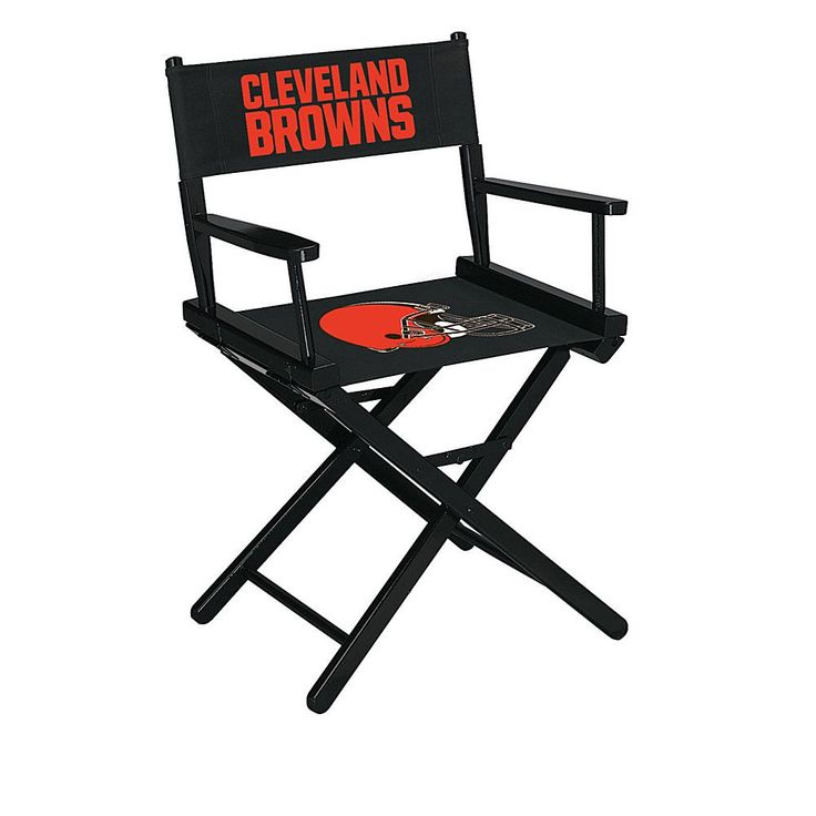 Officially Licensed NFL Table Height Director's Chair - Browns