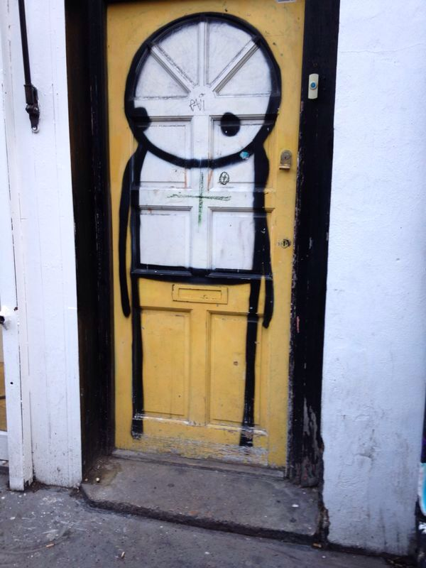 """Stik"" simple but effective always makes me smile."